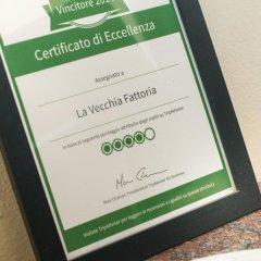 Отель La Vecchia Fattoria Италия, Лорето - отзывы, цены и фото номеров - забронировать отель La Vecchia Fattoria онлайн интерьер отеля