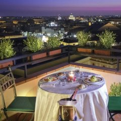 Отель Diana Roof Garden балкон