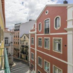 Отель LxWay Lisboa aos Poiais Лиссабон балкон