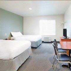 Отель Woodspring Suites Columbus Hilliard Колумбус комната для гостей