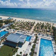 Отель Riu Playacar Плая-дель-Кармен пляж фото 2