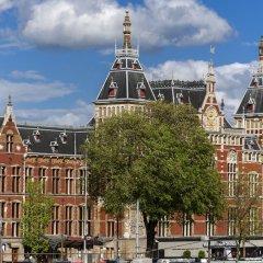 Отель Ibis Styles Central Station Амстердам городской автобус