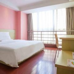 Отель 7Days Inn Qingdao Licun Laoshan Mall комната для гостей фото 5