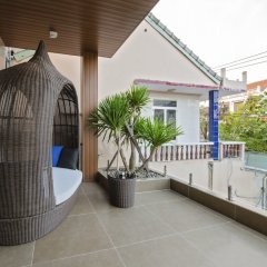 Отель Khong Cam Garden Villas Хойан балкон