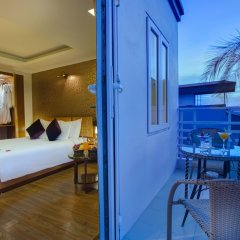 Hanoi Elegance Ruby Hotel балкон