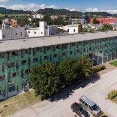 Отель Kolpinghaus Salzburg Зальцбург парковка