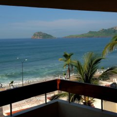 Отель Del Real Hotel & Suites Мексика, Масатлан - отзывы, цены и фото номеров - забронировать отель Del Real Hotel & Suites онлайн балкон
