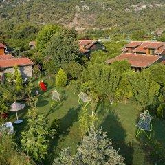 Отель Cirali Flora Pension бассейн