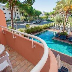Отель Vilamoura Garden Hotel Португалия, Виламура - отзывы, цены и фото номеров - забронировать отель Vilamoura Garden Hotel онлайн балкон