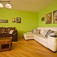Апартаменты Lakshmi Apartment Belorusskaya комната для гостей фото 3