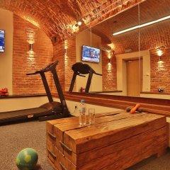 Отель Amber фитнесс-зал фото 2
