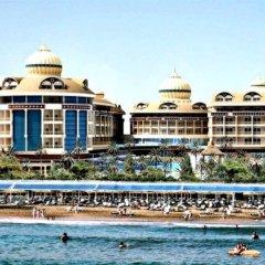 Отель Kirman Belazur Resort And Spa Богазкент пляж