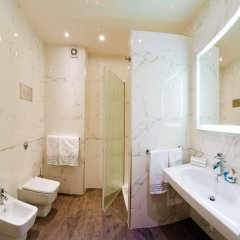 Отель Victoria Италия, Виченца - отзывы, цены и фото номеров - забронировать отель Victoria онлайн ванная