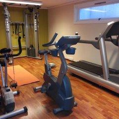 Отель Hotell Refsnes Gods фитнесс-зал