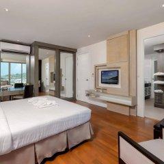 Апартаменты G1 Serviced Apartment Kamala Beach комната для гостей фото 3