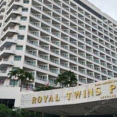 Отель Royal Twins Palace Паттайя вид на фасад фото 2