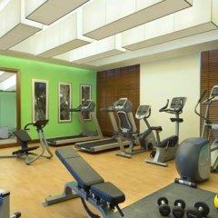 Отель Hilton Garden Inn Dubai Al Muraqabat Дубай фитнесс-зал фото 4