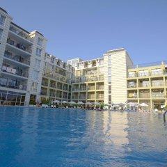 Отель Festa Pomorie Resort Болгария, Поморие - 1 отзыв об отеле, цены и фото номеров - забронировать отель Festa Pomorie Resort онлайн бассейн