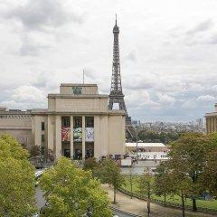 Отель Best Western Au Trocadero балкон