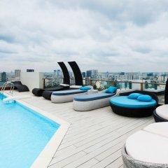 Апартаменты Léman Luxury Apartments бассейн