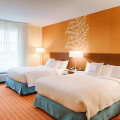 Отель Fairfield Inn & Suites by Marriott Columbus Dublin комната для гостей