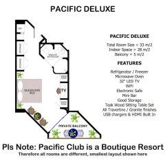 Отель Pacific Club Resort городской автобус