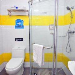 Отель 7 Days Inn Jiangmen 1st Gangkou Road Phoenix Mountain Station Branch ванная