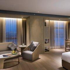 Отель Novotel Shanghai Clover комната для гостей