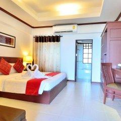 Отель First Bungalow Beach Resort Таиланд, Самуи - 6 отзывов об отеле, цены и фото номеров - забронировать отель First Bungalow Beach Resort онлайн комната для гостей фото 5