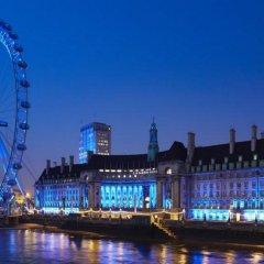Отель London Marriott Hotel County Hall Великобритания, Лондон - 1 отзыв об отеле, цены и фото номеров - забронировать отель London Marriott Hotel County Hall онлайн приотельная территория фото 2