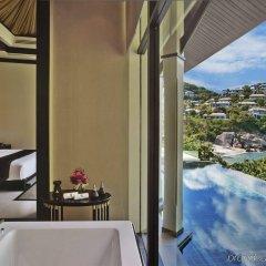 Отель Banyan Tree Samui Таиланд, Самуи - 10 отзывов об отеле, цены и фото номеров - забронировать отель Banyan Tree Samui онлайн ванная