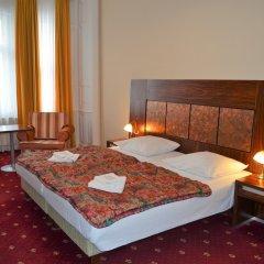 Отель Palacky Чехия, Карловы Вары - 1 отзыв об отеле, цены и фото номеров - забронировать отель Palacky онлайн комната для гостей фото 3