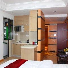 Апартаменты She & He Service Apartment - Huifeng в номере