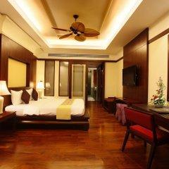 Отель Duangjitt Resort, Phuket 5* Люкс с различными типами кроватей фото 3