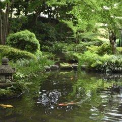 Отель Royal Park Hotel Япония, Токио - отзывы, цены и фото номеров - забронировать отель Royal Park Hotel онлайн приотельная территория фото 2