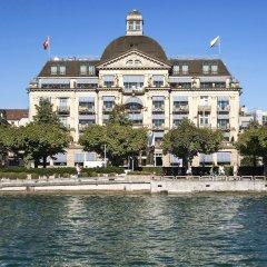 Отель La Reserve EDEN AU LAC Zurich пляж фото 2