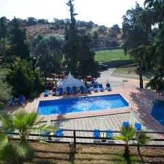 Hotel Abetos del Maestre Escuela бассейн фото 2