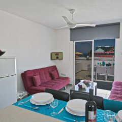 Отель Evelina Apartment Кипр, Протарас - отзывы, цены и фото номеров - забронировать отель Evelina Apartment онлайн комната для гостей фото 5