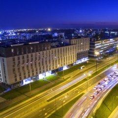 Отель Апарт-отель City Comfort Польша, Варшава - 8 отзывов об отеле, цены и фото номеров - забронировать отель Апарт-отель City Comfort онлайн балкон