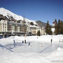 Отель Seehof Швейцария, Давос - отзывы, цены и фото номеров - забронировать отель Seehof онлайн спортивное сооружение