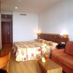 Отель Blaucel Испания, Бланес - 1 отзыв об отеле, цены и фото номеров - забронировать отель Blaucel онлайн комната для гостей фото 4