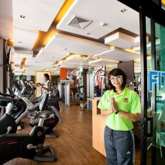 Курортный отель C&N Resort and Spa фитнесс-зал фото 2