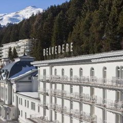 Отель Steigenberger Grandhotel Belvedere Швейцария, Давос - 1 отзыв об отеле, цены и фото номеров - забронировать отель Steigenberger Grandhotel Belvedere онлайн фото 6