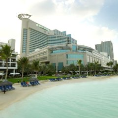 Отель Beach Rotana ОАЭ, Абу-Даби - 1 отзыв об отеле, цены и фото номеров - забронировать отель Beach Rotana онлайн пляж фото 2