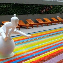 Отель ibis Styles Bangkok Khaosan Viengtai бассейн фото 4