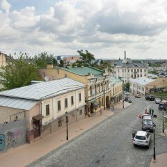 Гостиница Апартамент «Подол» Украина, Киев - отзывы, цены и фото номеров - забронировать гостиницу Апартамент «Подол» онлайн балкон