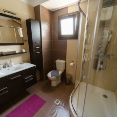 Отель Hanioti Hotel Греция, Ханиотис - отзывы, цены и фото номеров - забронировать отель Hanioti Hotel онлайн ванная