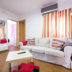 Отель Atico Terraza And Barbacoa Park Guell Барселона комната для гостей