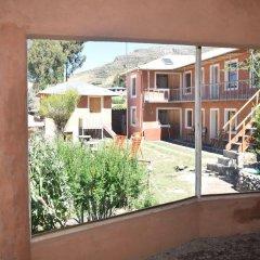 Отель Titicaca Lodge балкон