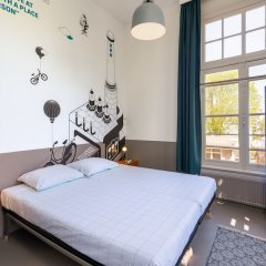 Отель Stayokay Amsterdam Oost Нидерланды, Амстердам - 1 отзыв об отеле, цены и фото номеров - забронировать отель Stayokay Amsterdam Oost онлайн комната для гостей